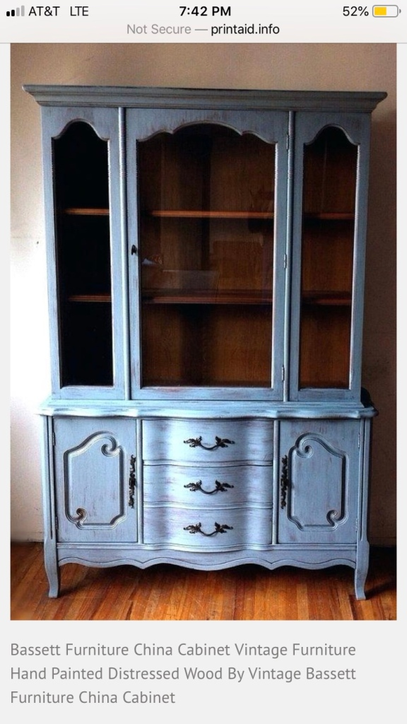 Example of the Original China Hutch