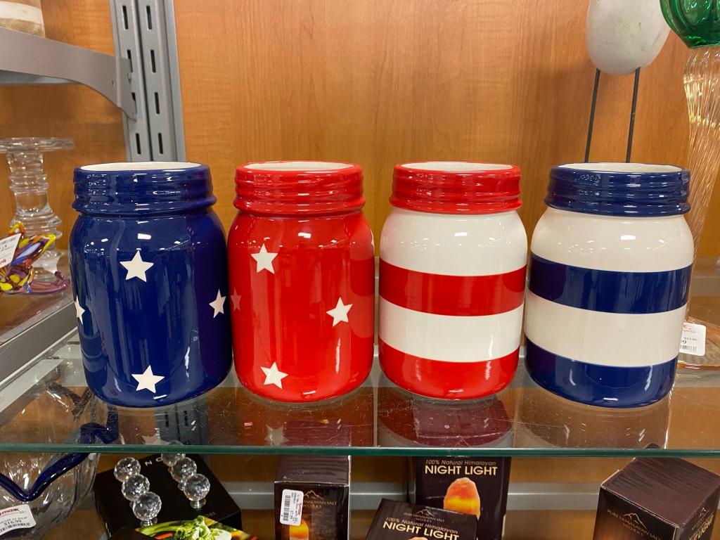 Fake jars at TJ Maxx.